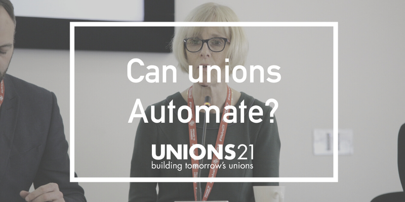 Unions 21 Webinar 'Can Unions Automate?'