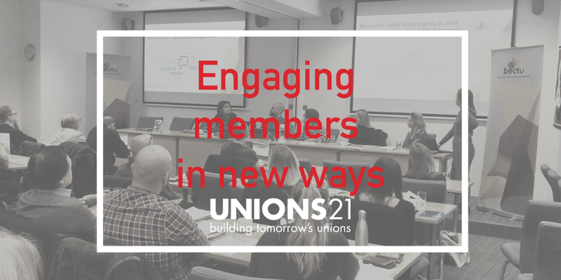 Engaging members in new ways