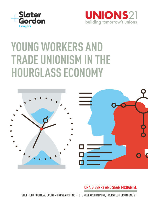 Young Professional Workers, Trade Unions and the Hourglass Economy